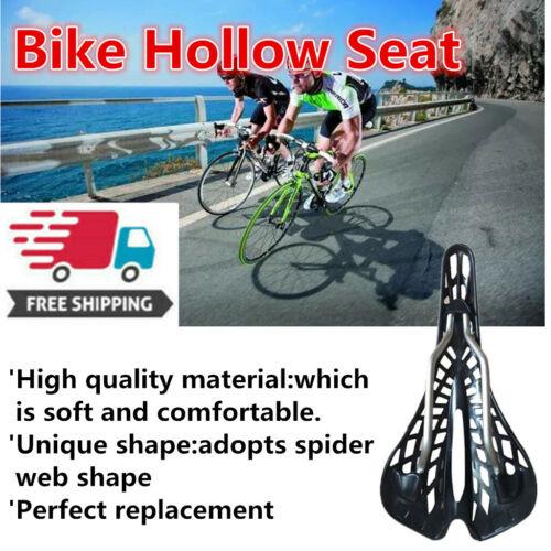 Plastic Bike Hollow Saddle Pad Seat Bicycle Cycling MTB Mountain Road cj