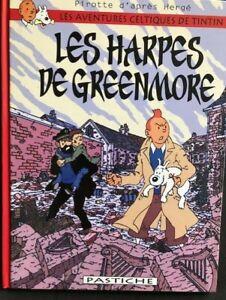 Les harpes de Greenmore - Tintin - Pastiche - Couleur - 40 pages