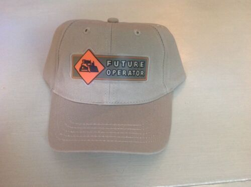 "Cat Caterpillar Licensed children/'s ball cap /""Future Operator/"" hat baseball"