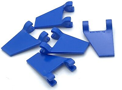 Lego 5 New Blue Flags 2 x 2 Trapezoid Pieces