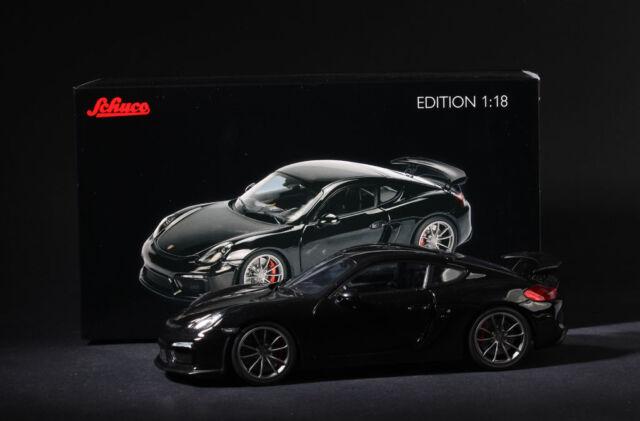 Schuco 450040100 Porsche Cayman GT4 schwarz 1:18  NEU mit OVP