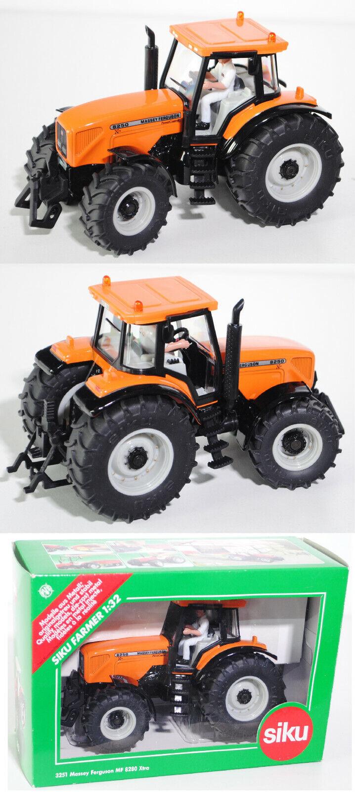 SIKU FARMER 3251 Massey Ferguson 8250 Xtra Tracteur 1 32 Spécial Modèle sikumuseum