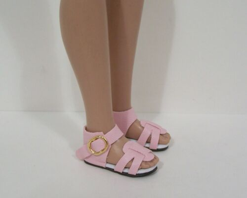 """LT PINK Strappy Sandals Doll Shoes For Robert Tonner 12/"""" Marley Wentworth Debs"""