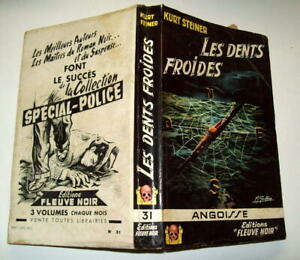 KURT-STEINER-Les-dents-froides-COLLECTION-ANGOISSE-N-31-1957