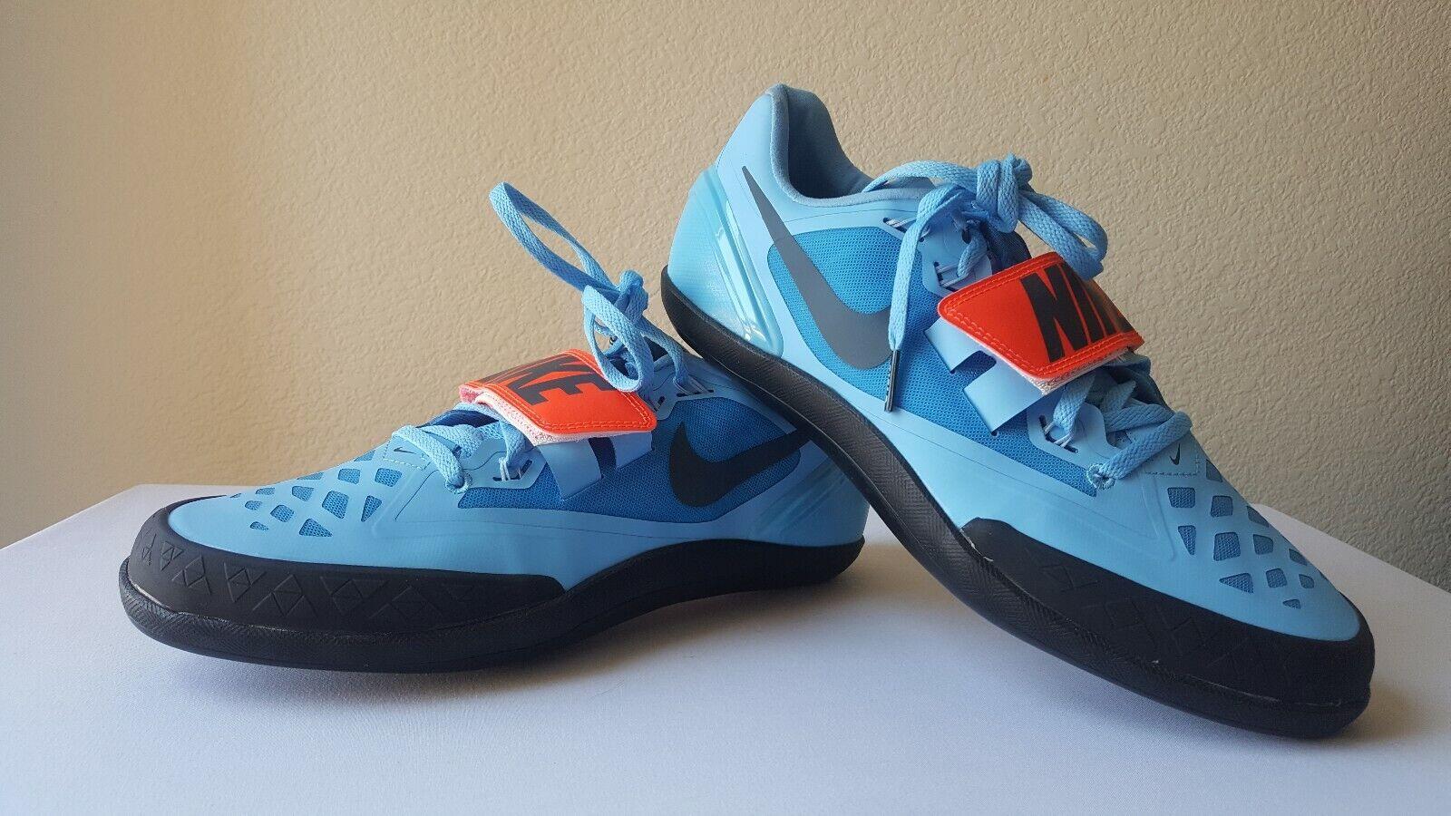 Nike Zoom redational 6 Throwing Shot Put Discus shoes 685131-446 Men's Size 9.5