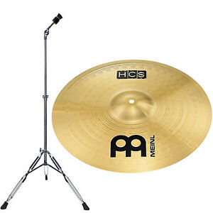 meinl hcs 16 crash cymbal stand straight lyd 25 ebay. Black Bedroom Furniture Sets. Home Design Ideas