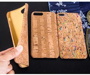 For-iPhone-8-7-Plus-6S-6-Plus-Fashion-Wood-Grain-Natural-Cork-Soft-Phone-Cases