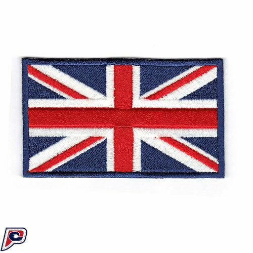 UK Britain British Flag Applique Crafts Sequin Union Jack Flag Iron On Patch