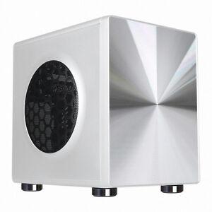 034-New-034-IGUJU-I-3AL-Silver-amp-White-USB-3-0-Computer-case-034-HighQuality-CubeMiniCase