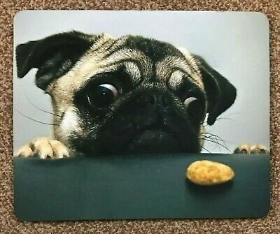 mouse mat pug dog desktop laptop mouse pad quality 5 MM thick made in UK