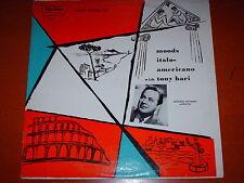Tony Bari-Moods Italo-Americano-LP-Tru Tone-TT 8-Vinyl Record