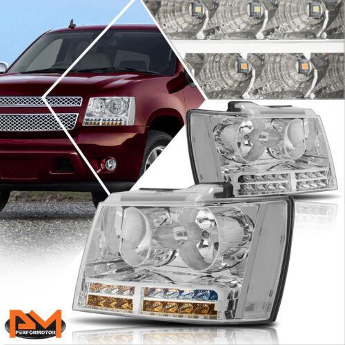 innova3.com For 07-14 Tahoe/Suburban LED DRL+Turn Signal Headlight ...