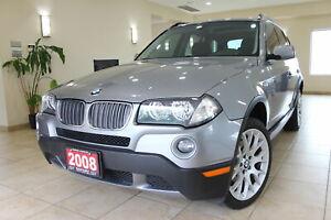 2008 BMW X3 3.0i AWD No Accidents!