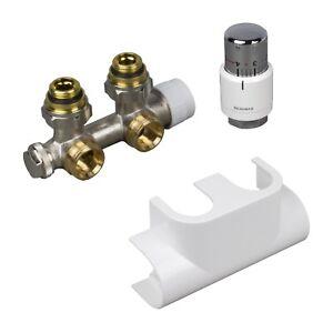 Oventrop-Multiblock-T-Anschluss-Set-Badheizkoerper-Mittelanschluss-Thermostatkopf
