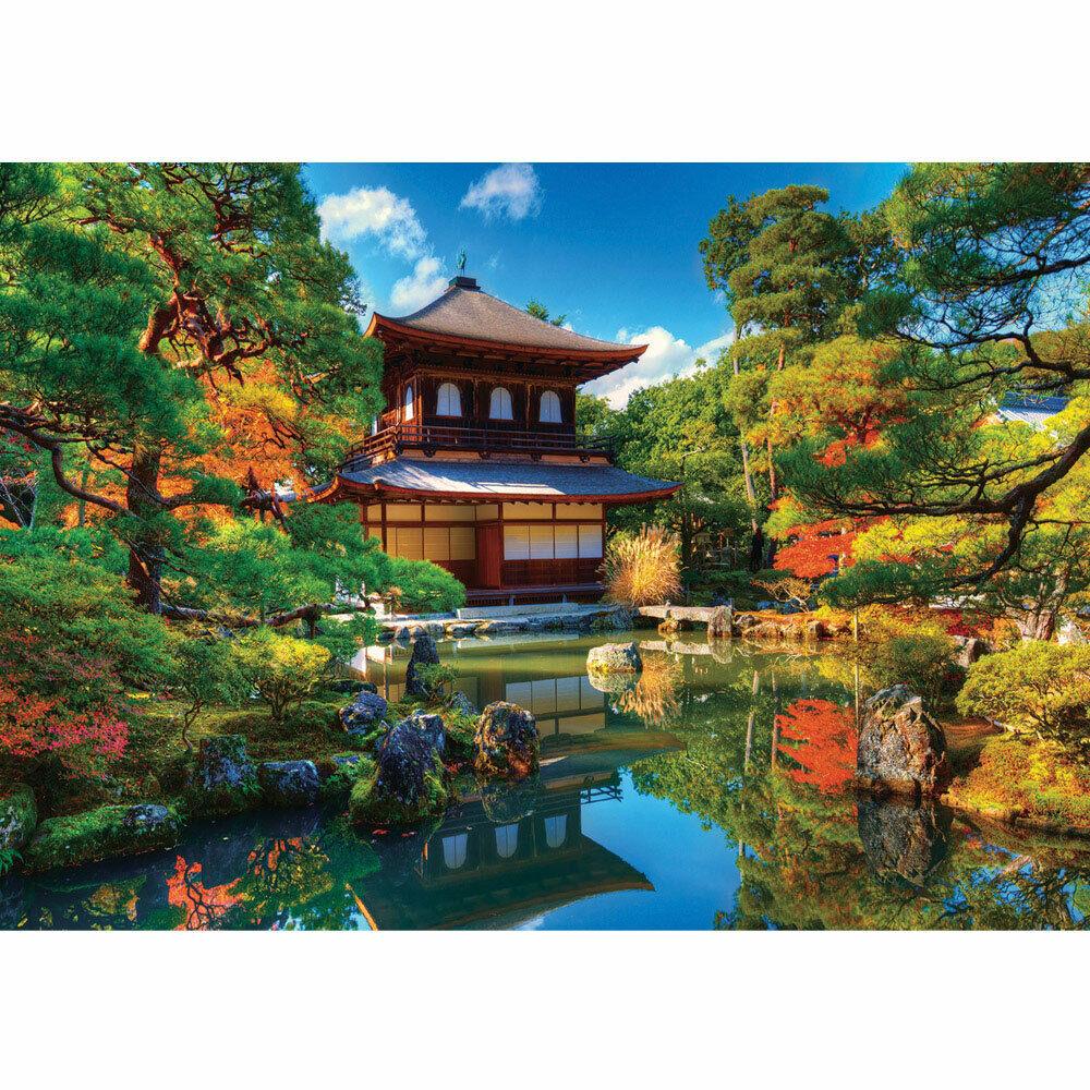 Papier Peint Photo Japon Temple Maison Eden Naturel green Lake Pierres Liwwing