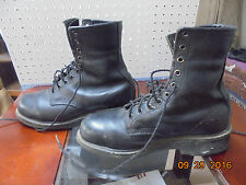 Red Wing 2413- 05 Biker Riding Motorcycle Steel Toe Men Black Leather Boots Sz 8