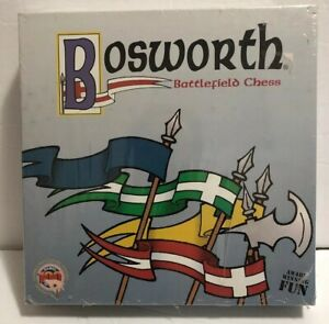 BOSWORTH-Battlefield-Chess-1998-Out-Of-The-Box-Games-NEW-FACTORY-SEALED
