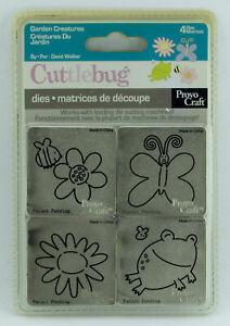 Provo-Craft-Cuttlebug-Cutting-Die-Garden-Creatures-Design