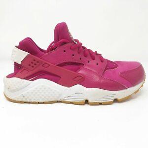 Nike-Womens-Air-Huarache-Run-634835-606-Fuchsia-Pink-Running-Shoes-Size-7-5