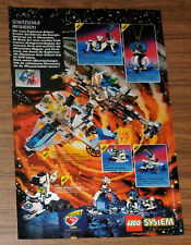 Seltene Werbung LEGO System Exploriens 6982 Athmo Cruiser 6899 Mobilab 1996