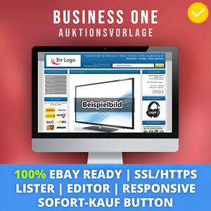 Blue-One-eBay-Template-Auktionsvorlage-Verkaufsvorlage-Vorlage-Ebayvorlage
