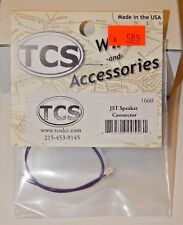TCS #1660 JST Speaker Connector NEW