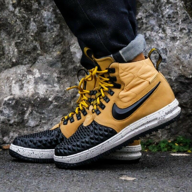 Nike Air Force 1 Lunar Force 1 Unisex DuckBoot High-Top High-Top High-Top Trainers Sneaker 3a58d7