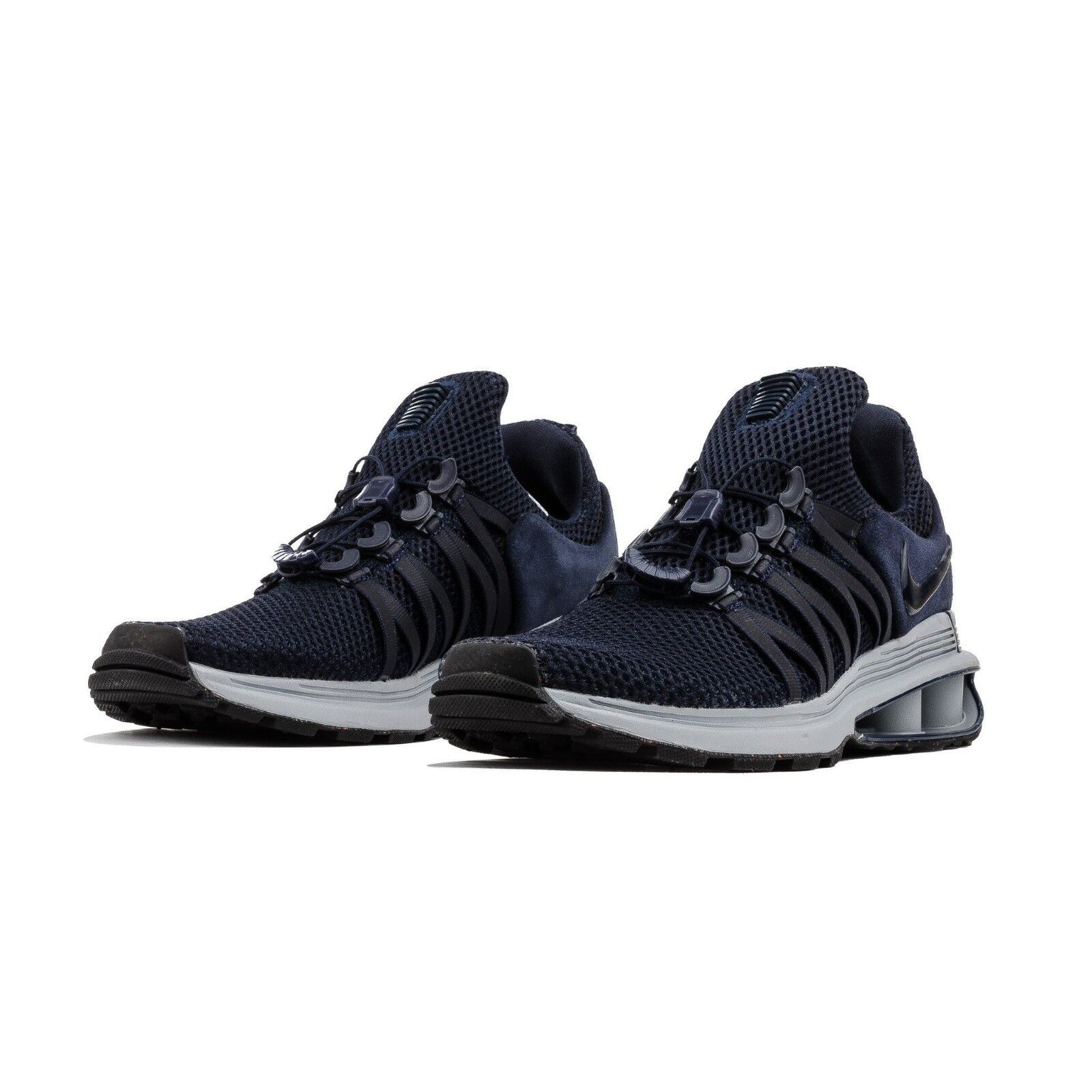 Nike Shox Gravity Obsidian Midnight Navy Mens Sz 9 AR1999-402