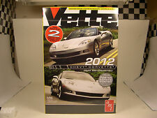 AMT 2012 CHEVROLET CORVETTE TWO (2) 1:25 SCALE PLASTIC MODEL CAR KITS