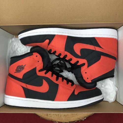 Retro 061 1 Nike High Black 12 Size White 91205746459 Air Orange 344613 Jordan Bred Max Apagado tqTTagwPp
