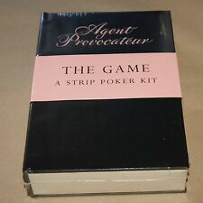 Agent Provocateur : Strip Poker     (Book, rules, chips, cards)