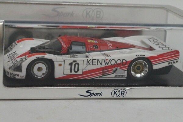 Spark-KB 1 43 Porsche 962 C  10 Le Mans 1988 KBS006