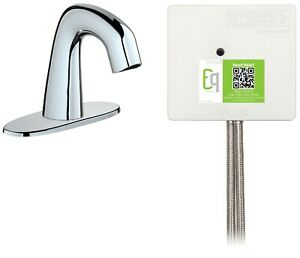 Touch-Free-Faucet-Chicago-Faucet-Co-Plug-Play-Bathroom-Kitchen-Sink