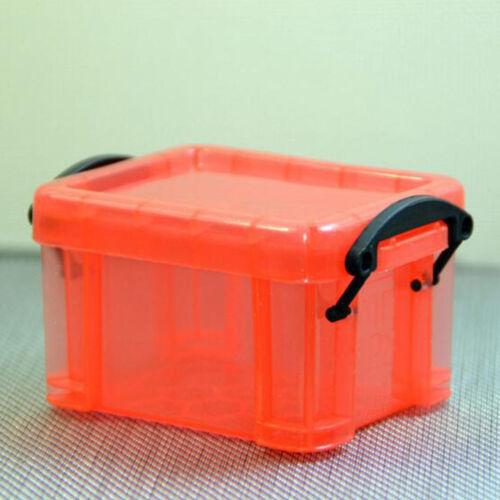 Plastic Clear Mini Jewelry Bead Organizer Box Storage Container Case Craft Tool