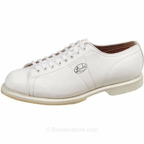 Linds Men's Classic White Right Handed  Bowling shoes size 20 new in box