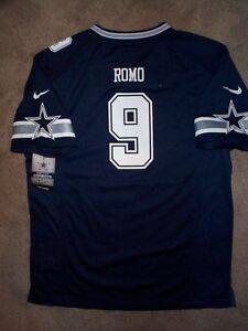 9b2c178b5 70) NIKE Dallas Cowboys TONY ROMO nfl Jersey YOUTH KIDS BOYS ...