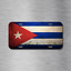 Cuba Flag License Plate Vehicle Auto Tag Havana Santiago de Cuban FREE SHIPPING