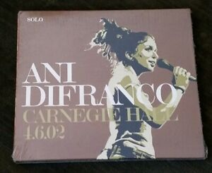NEW-Factory-Sealed-ANI-DiFRANCO-Carnegie-Hall-4-6-02-CD