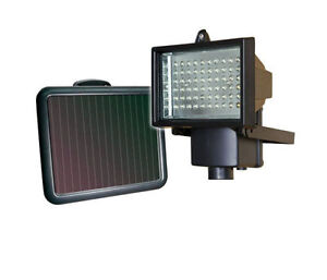 60 led solar security light flood light solar panel with fittings image is loading 60 led solar security light flood light amp aloadofball Choice Image