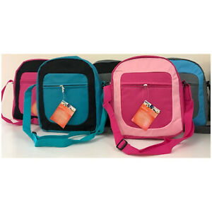 Lunch-Bags-Padded-Insulated-Cool-Bag-Kids-School-Lunches-Picnics-Various-Colours