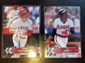 Details About 2017 Topps National Baseball Card Day Los Angeles Angels Sga Cards