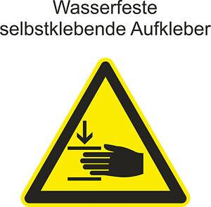 Hinweis-Aufkleber-Vorsicht-Warnung-vor-Handverletzungen-ab-5cm-Uv-fest