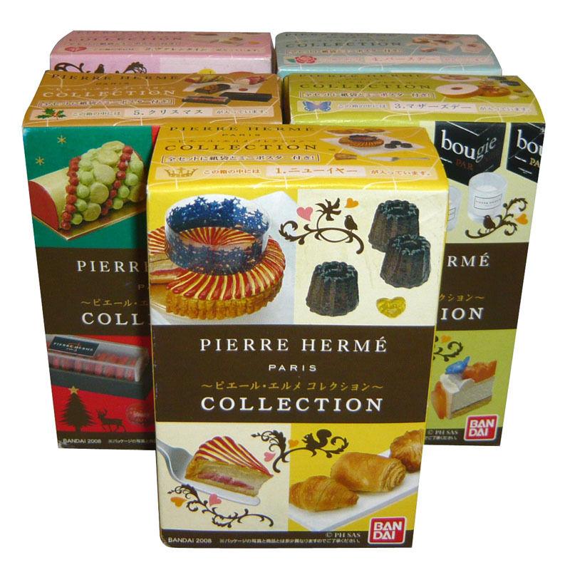 Rare 2008 Megahouse Pierre Hermé Cake Part 2 Full Set  of 5 pcs  qualité authentique