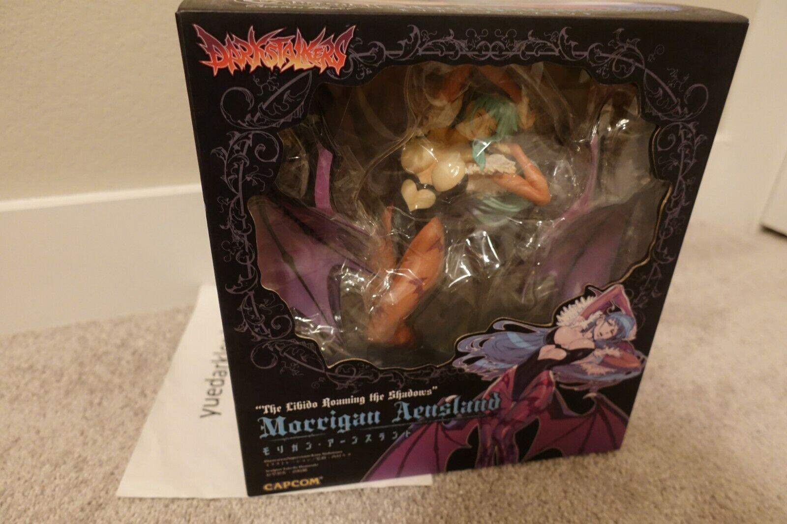Capcom Figure Builder Creators Model Morrigan Aensland Figure New RARE