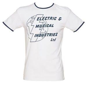 T-SHIRT-UOMO-TG-M-EMI-RECORDS-CASA-DISCOGRAFICA-ELECTRIC-amp-MUSICAL-INDUSTRIES