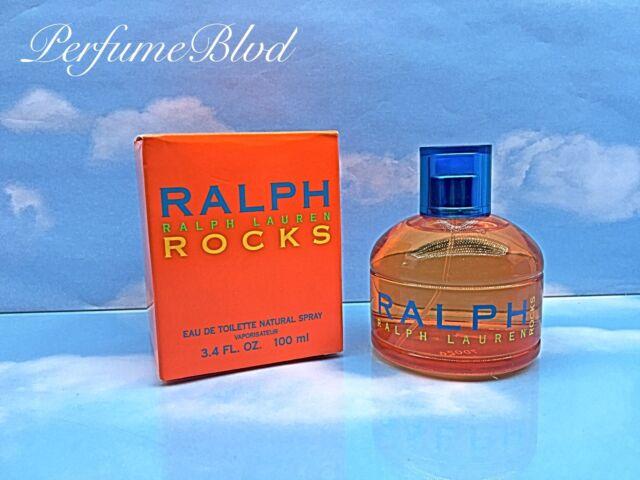 RALPH ROCKS BY RALPH LAUREN 3.4 FL.OZ 100 ML EAU DE TOILETTE SPRAY IN SEALED BOX
