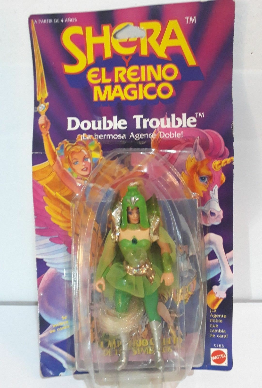 SHE-RA Y EL REINO MAGICO DOUBLE TROUBLE CONGOST MATTEL MOC MADE IN SPAIN 1986