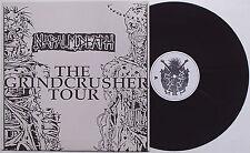 Napalm Death - The Grindcrusher Tour LP Live UK '89 Carcass Extreme Noise Terror