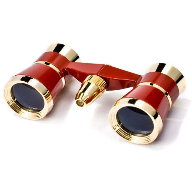 Barska Theatre Opera Glass Concert Binoculars w/ LED Light, 3x25, AB10286