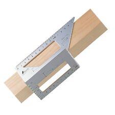 SHINWA 62113 Aluminium Square Miter Rule 3D 45+90 degree Free Shipping
